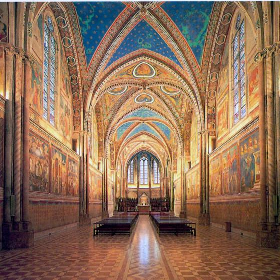 Assisi, Basilica Superiore