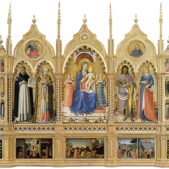 Perugia, Pala del Beato Angelico